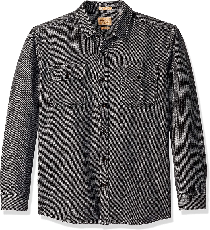 Quiksilver Mens Tiller Lines Shirt Woven