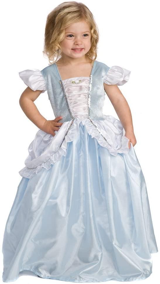 Little Adventures Original Cinderella Princess Dress Up Costume (Large Age 5-7)
