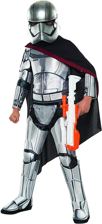 Star Wars: The Force Awakens - Kids Captain Phasma Super Deluxe Costume