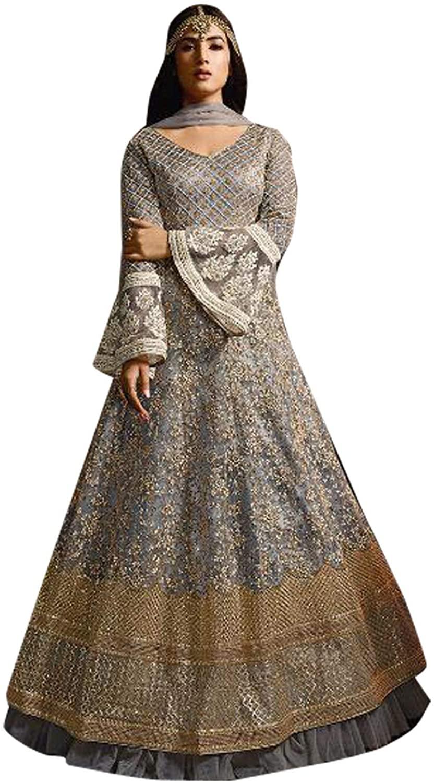 Pakistani Wear Anarkali Suit and Party Wear Stitched Net Anarkali Salwar Kameez Suit for Women Wear