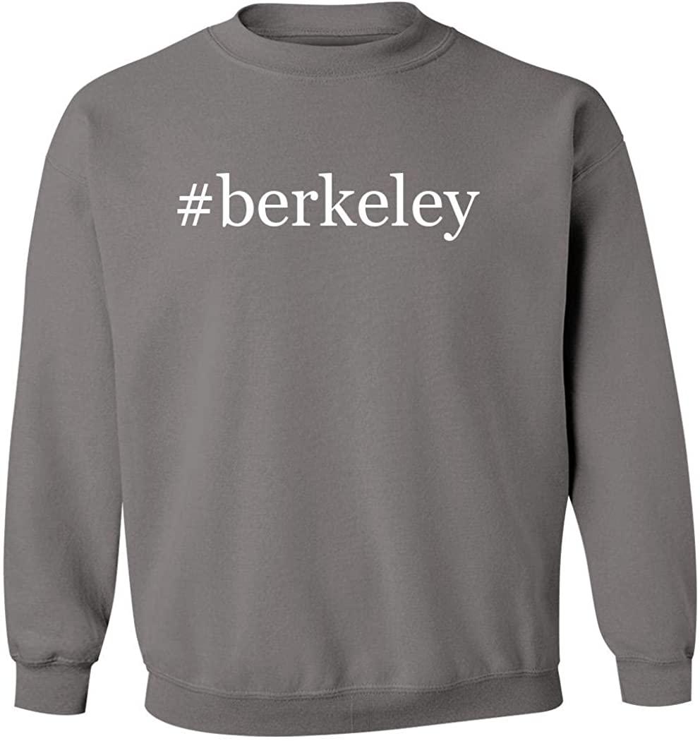 #berkeley - Men's Hashtag Pullover Crewneck Sweatshirt