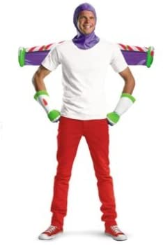 Adult Buzz Lightyear Costume Kit
