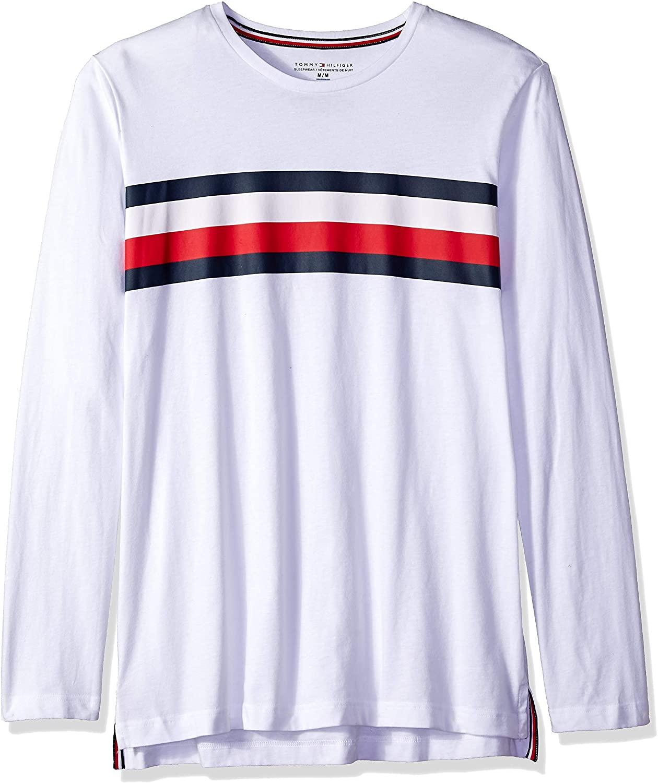 Tommy Hilfiger Men's Modern Essentials Cotton Jersey Crew Neck Long Sleeve Shirt
