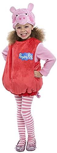Peppa Pig Bubble Dress Costume, 3-4T