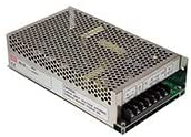 Mean Well SD-150D-24 Isolated DC/DC Converters 151.2W 24V 6.3A 72-144VDC or 85-132VAC, EMI Filter, Adj Output, Enclosed, Chassis Mt