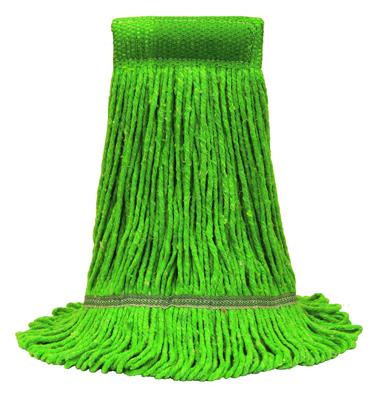 Oceeh #O'cedar Commercial 97147-3 Large MaxiClean Loop-End Mop, Green, (Pack of 3)