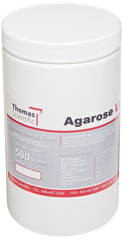 Benchmark Scientific A1705 Organic Solvent Free Agarose LE, 500g Capacity