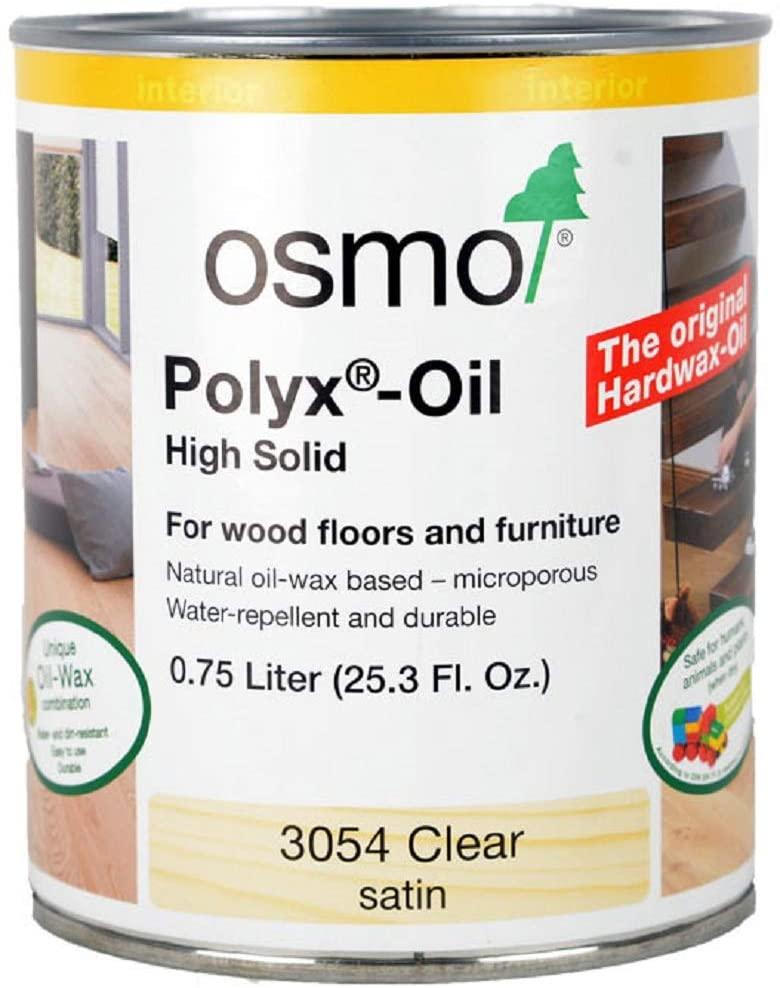 OSMO Polyx Hard Wax Oil .75 L (25.3 Fl. Oz.)
