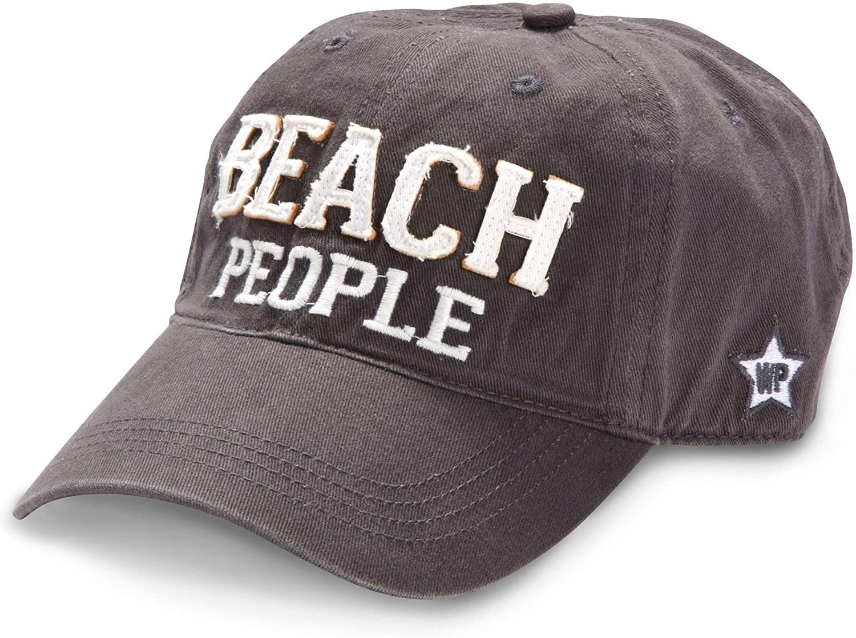 Pavilion Gift Company Beach People Adjustable Strap Cap