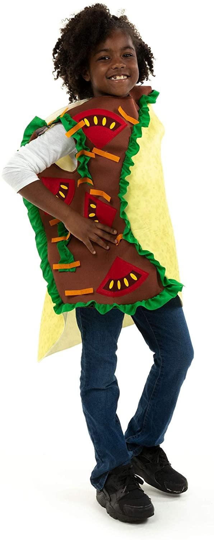 Crunchy Taco Children's Halloween Costume - Funny Food Suit for Kids