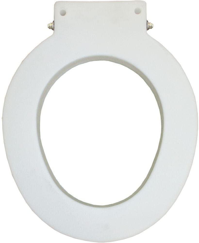 Bemis Medic-Aid 4-Inch Toilet Seat Lift Spacer, Round, White, 4LR 000