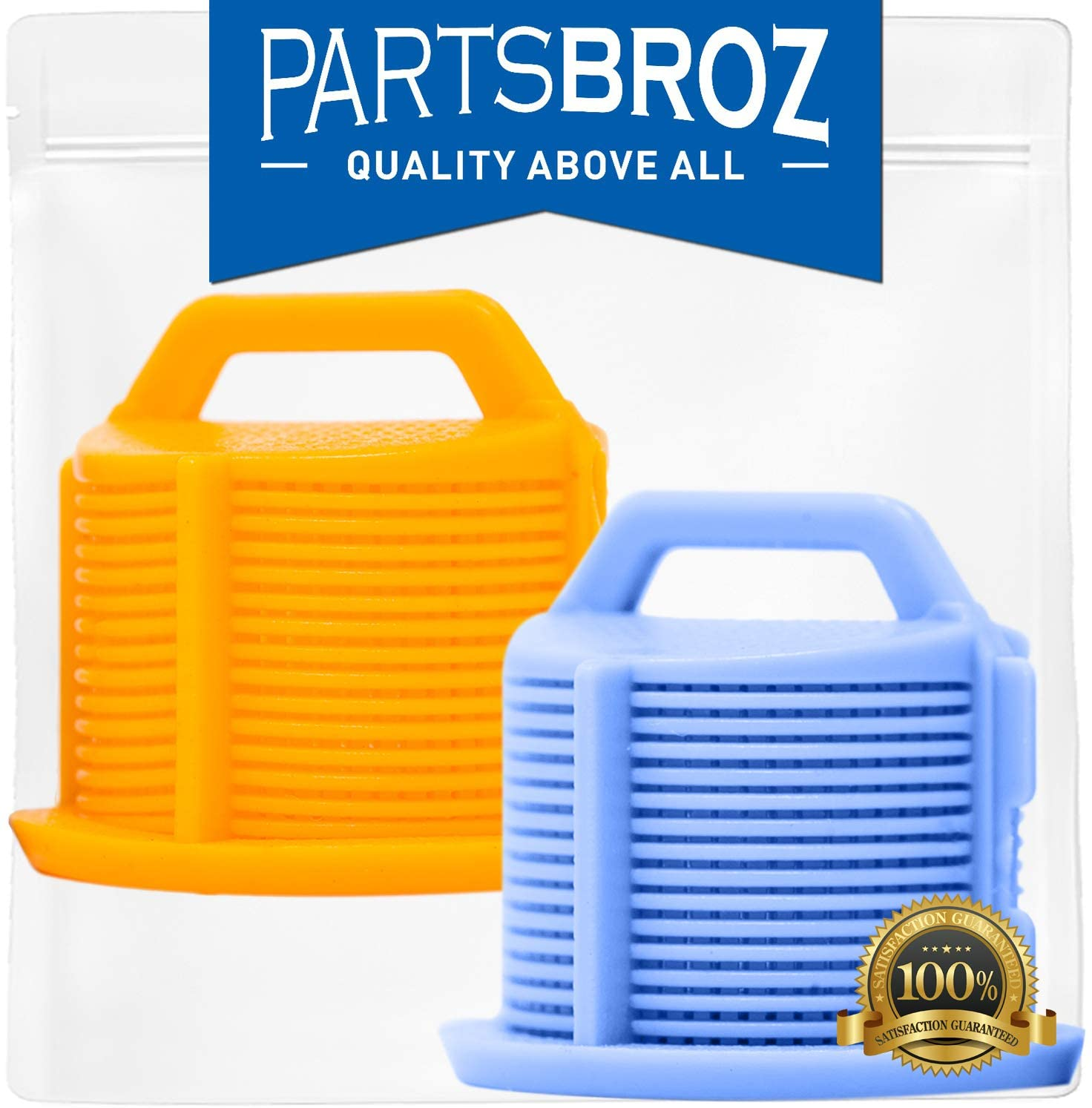 AGM73269501 Water Inlet Valve Filter Screens (2 Pieces) for LG Washers by PartsBroz - Replaces Part Numbers AP5202486, 1810261, AH3618281, EA3618281 & PS3618281