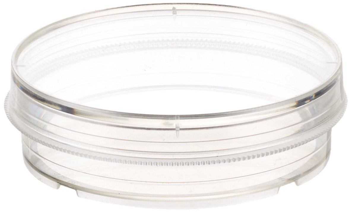 Celltreat 229663 Non-Treated Petri Dish with Grip, Sterile, 7-8mL Working Volume (Case of 500)