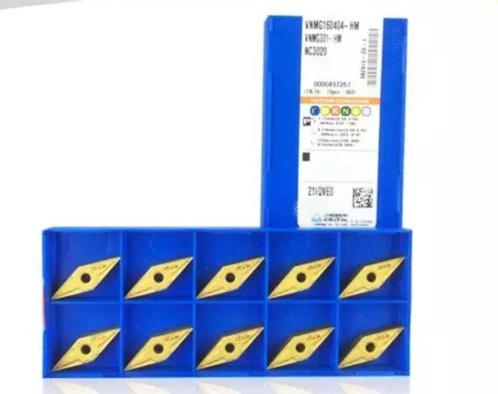 GBJ-1 VNMG160404-HM NC3020/VNMG331-HM NC3020 Carbird Inserts 10pcs