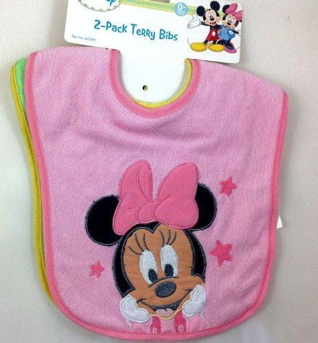 Disney Minnie Mouse Bib 2 Pack