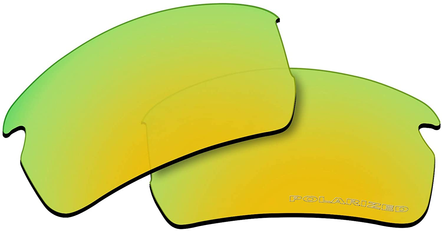OOWLIT Replacement Lenses Compatible with Oakley Flak 2.0 Asian Fit Sunglass
