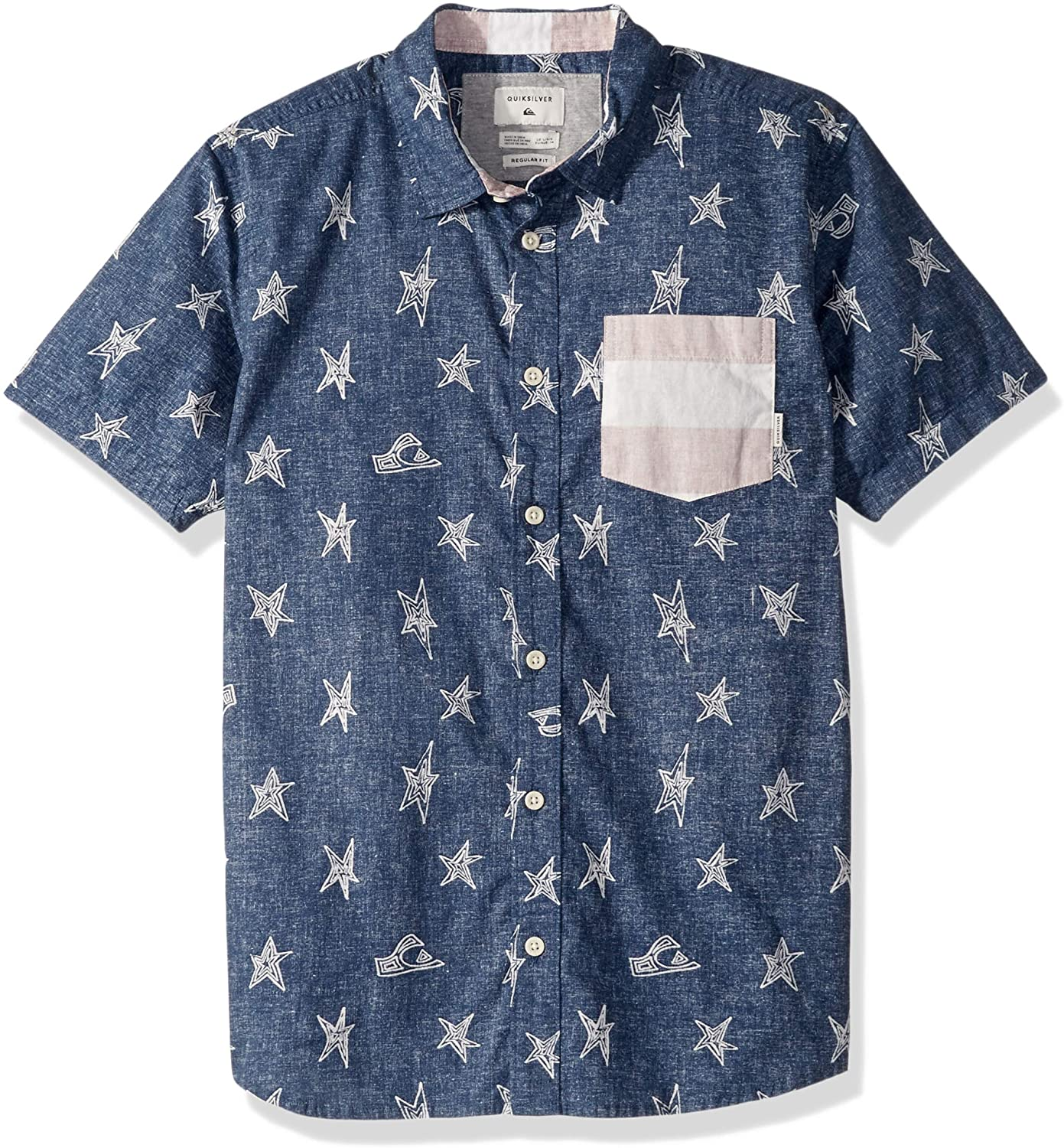 Quiksilver Boys' Big 4th of July Short Sleeve Youth