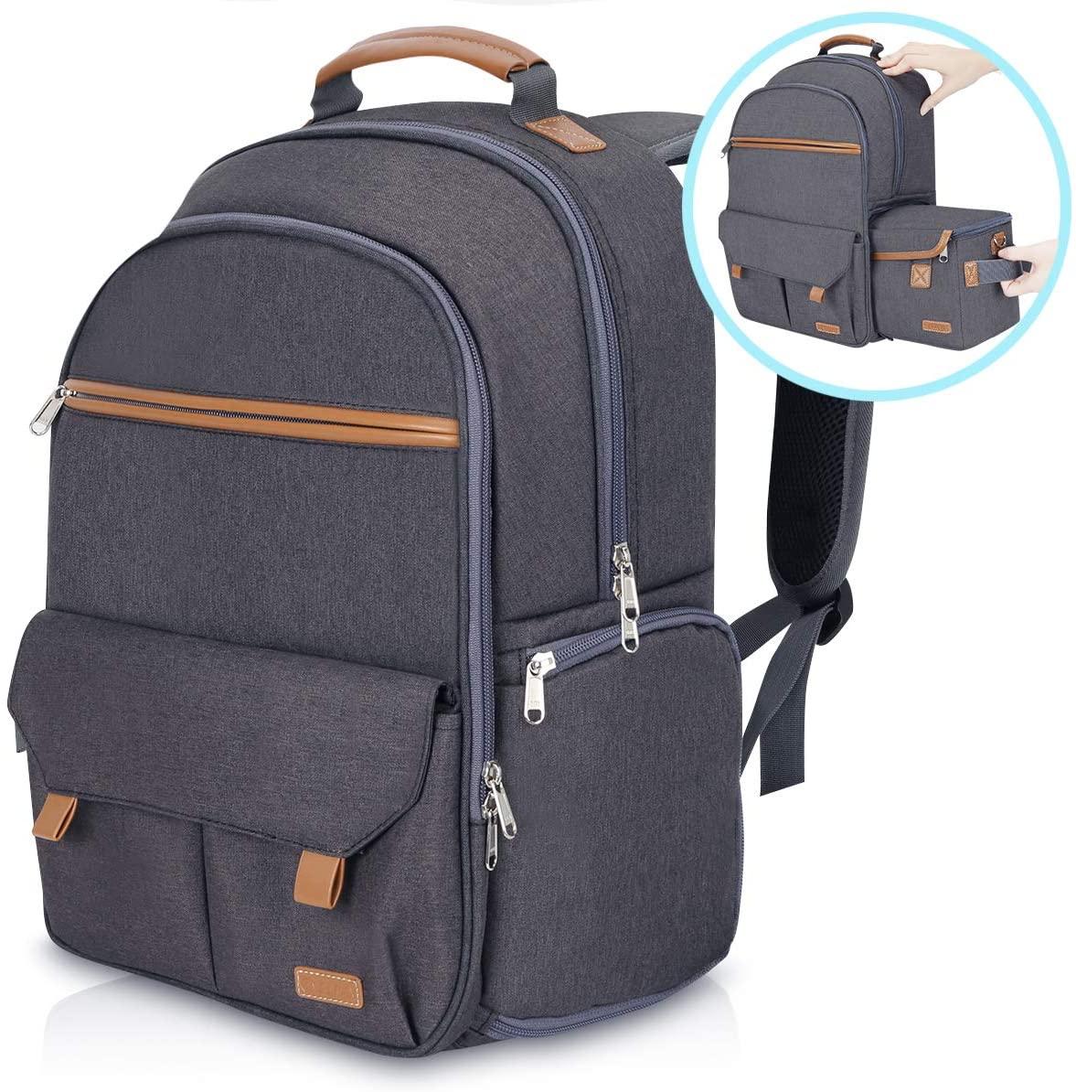 Endurax Waterproof Camera Backpack for Women and Men Fits 15.6