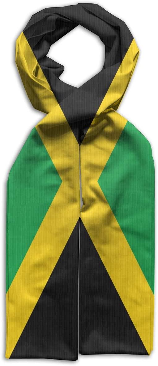 GQOP Kid's Scarf Flag of Jamaica Lightweight Long Scarf Shawl Warps