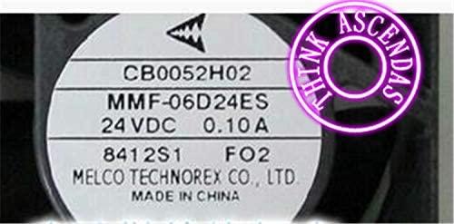 Original Cooling Fan MMF-06D24ES-FO2 MMF-06D24ES FO2 CB0052H02 24VDC 0.10A