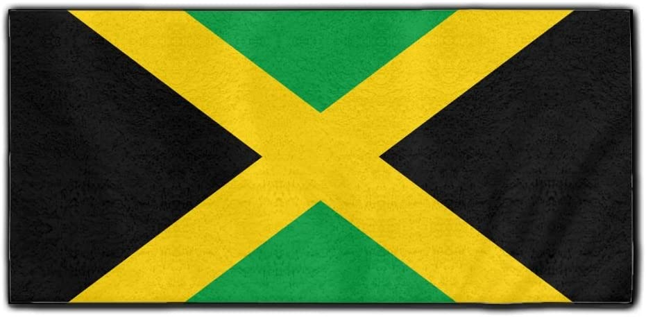 ChunLei Flag Of Jamaica Washcloths Face Towel Hair Care Towel Gym And Spa Towel Kitchen Dish Towel