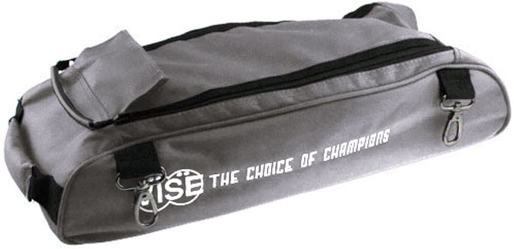 Vise Shoe Bag Add On for Vise 3 Ball Roller Bowling Bags- Gray