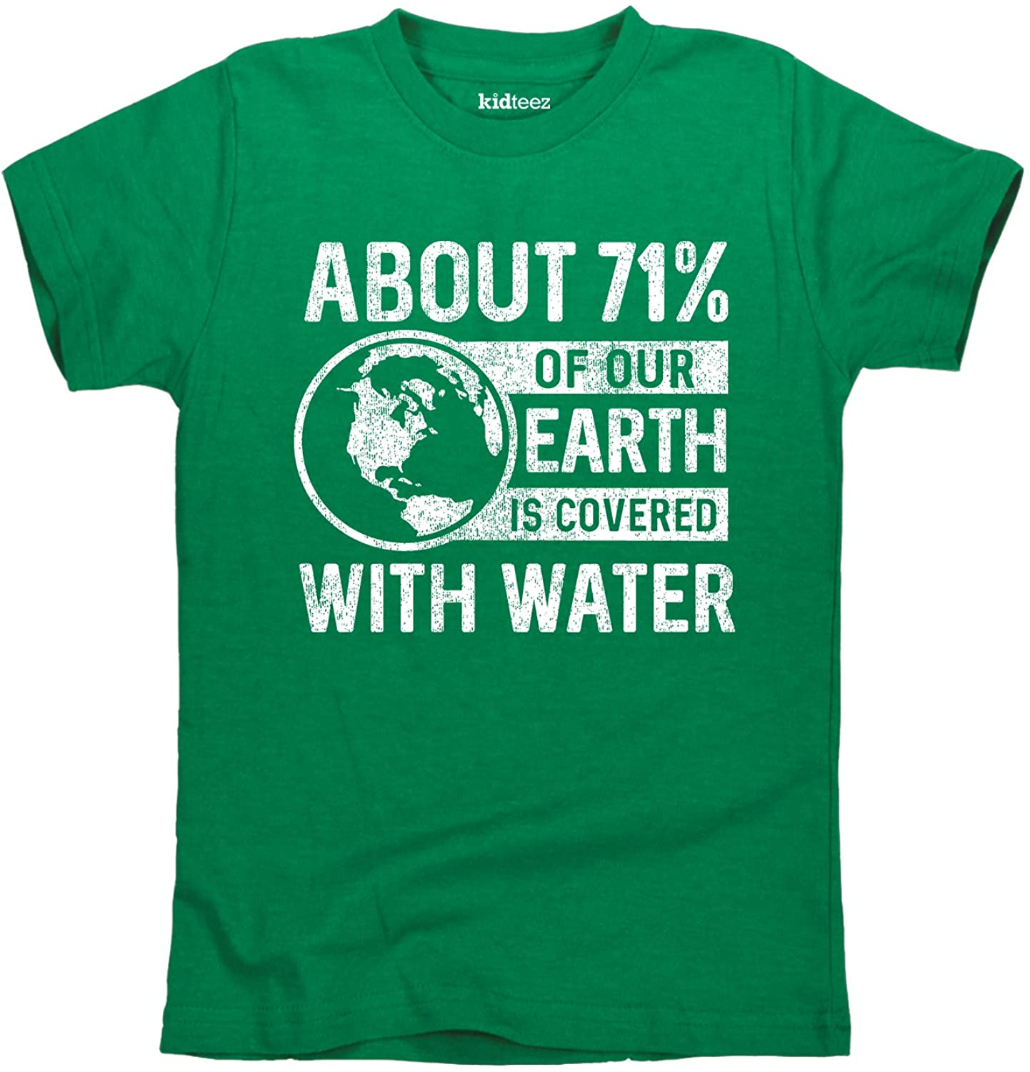 Percent Water Earth - Toddler Short Sleeve Tee