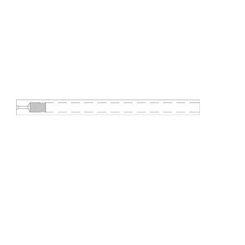 RESTEK 20799-216.5 Single Taper Inlet Liner with Carbofrit, Siltek, 78.5 mm Length, 6.50 mm OD, 4 mm ID, Borosilicate Glass (Pack of 5)