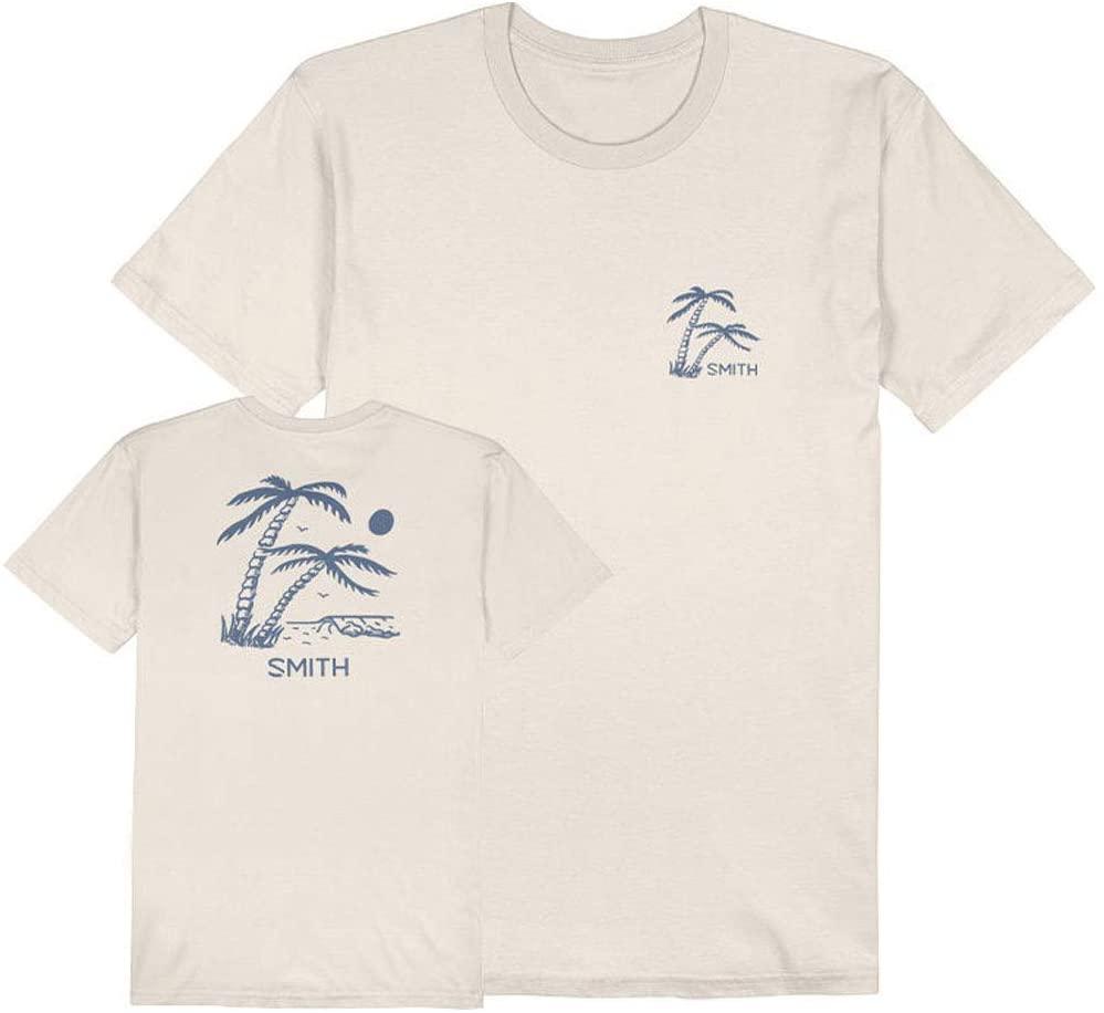 Smith Men's Palm Tee - Natural - I100783A4