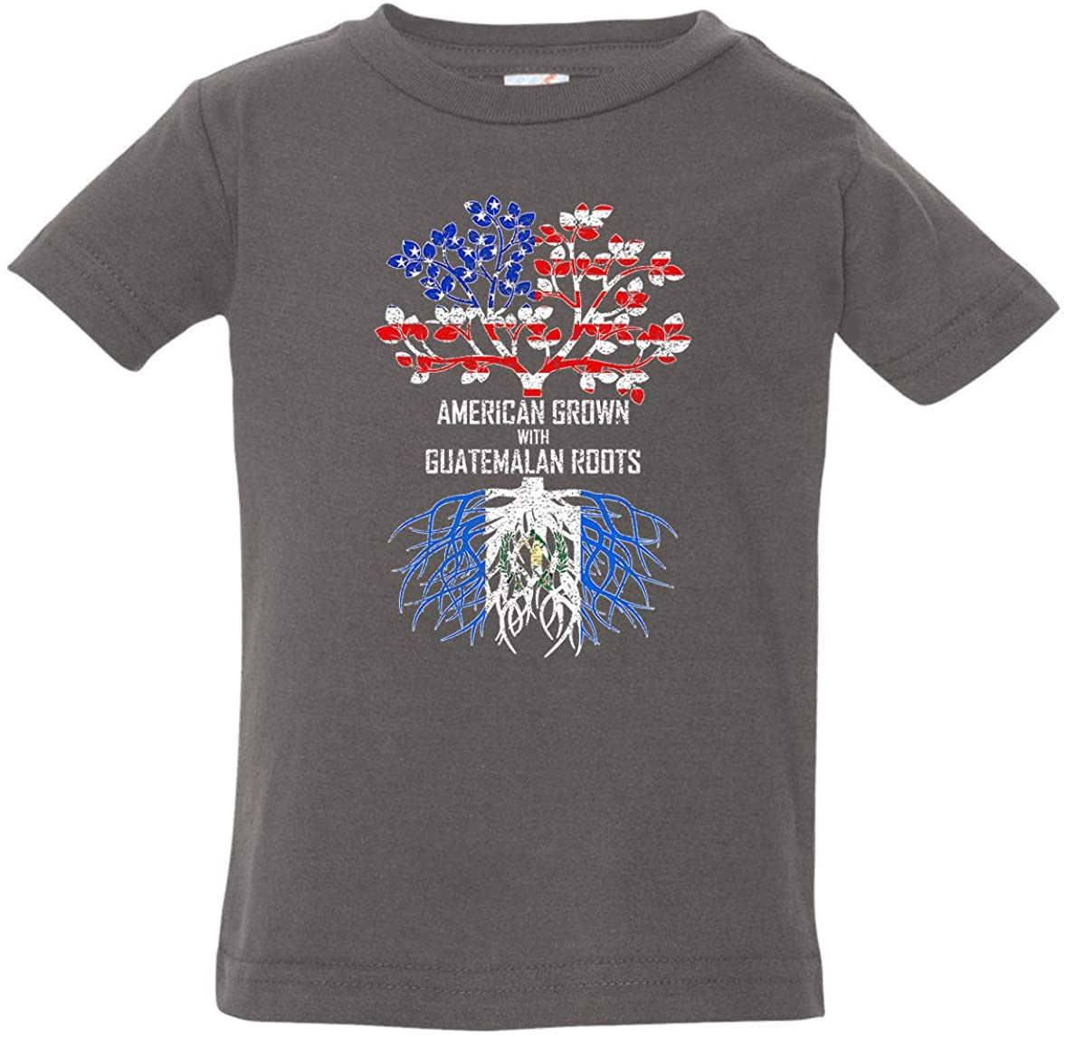 Tenacitee Baby's American Grown with Guatemalan Roots Shirt