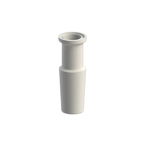 ACE GLASS 5001-12 Series Standard Taper to Sanitary Adapter, 29/42 Inner Bottom, 1/2