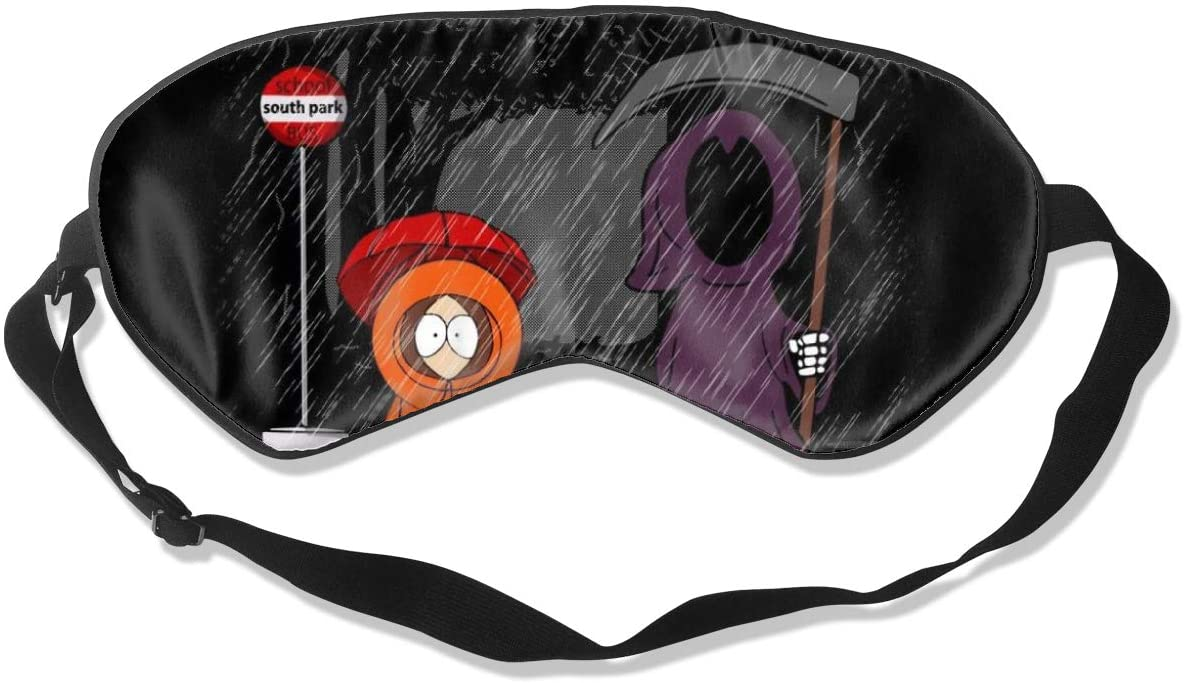 Sleeping Mask 100% Blackout,My Neighbor Death South Park Studio Ghibli Sleep Mask,Night Masks,Super-Smooth Eye Mask