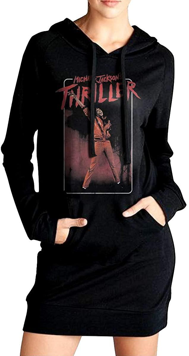 Michael Jackson Woman Sweater Pockets Dress