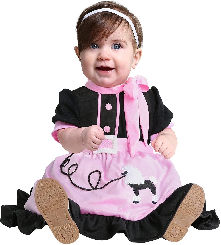50s Poodle Skirt Infant Costume
