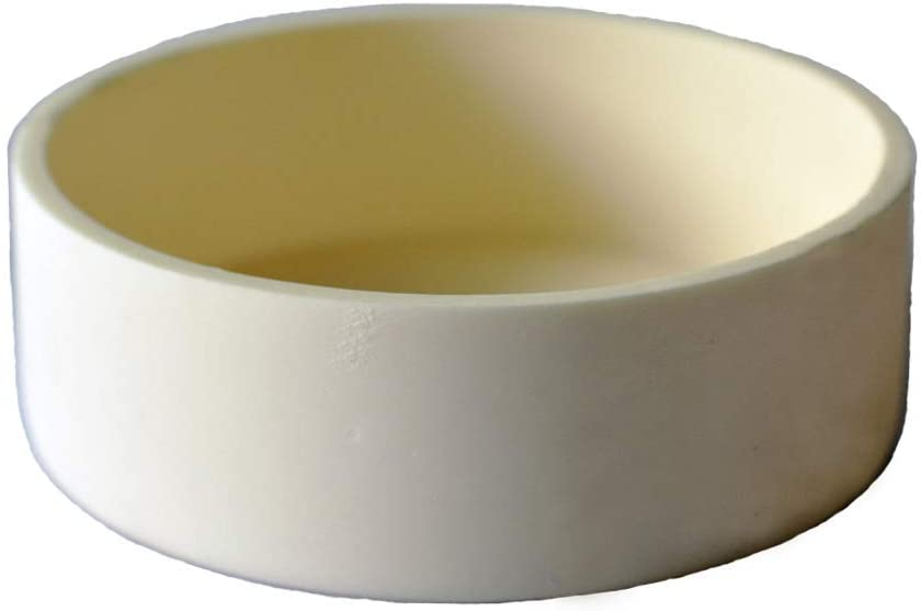 OTOOLWORLD 99.3% Alumina Crucible Al2O3 Aluminum Oxide Assay Crucible for Lab Laboratory 120ML 90MMx35MM (90x35MM 120ML)