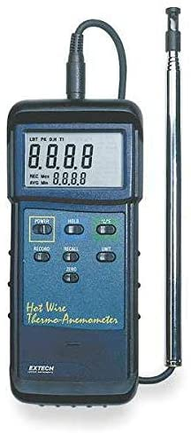 Anemometer, 40 to 3940 fpm