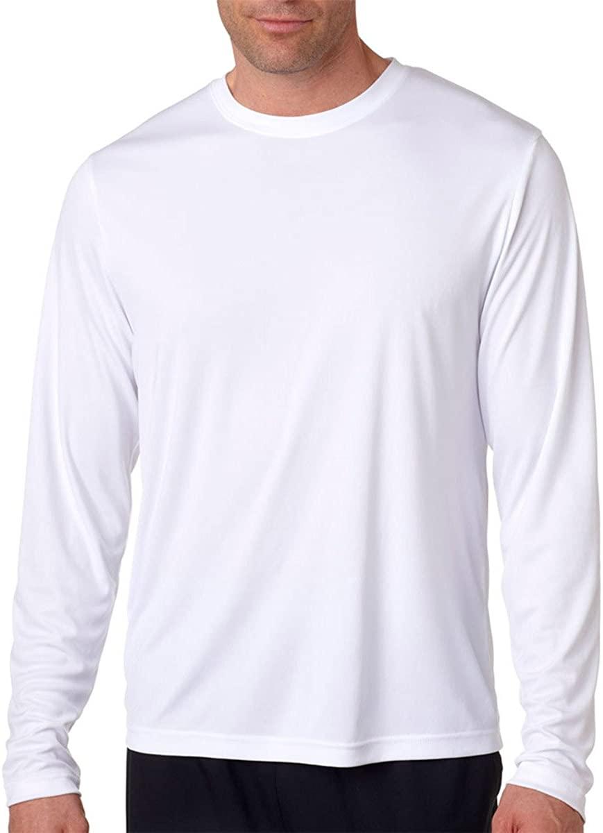 Hanes Adult Cool Dri Long-Sleeve Performance T-Shirt