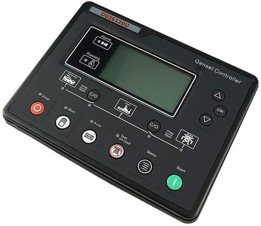 L-SHISM Generator Controller, Diesel Generator Set Automation Control Module Control Panel
