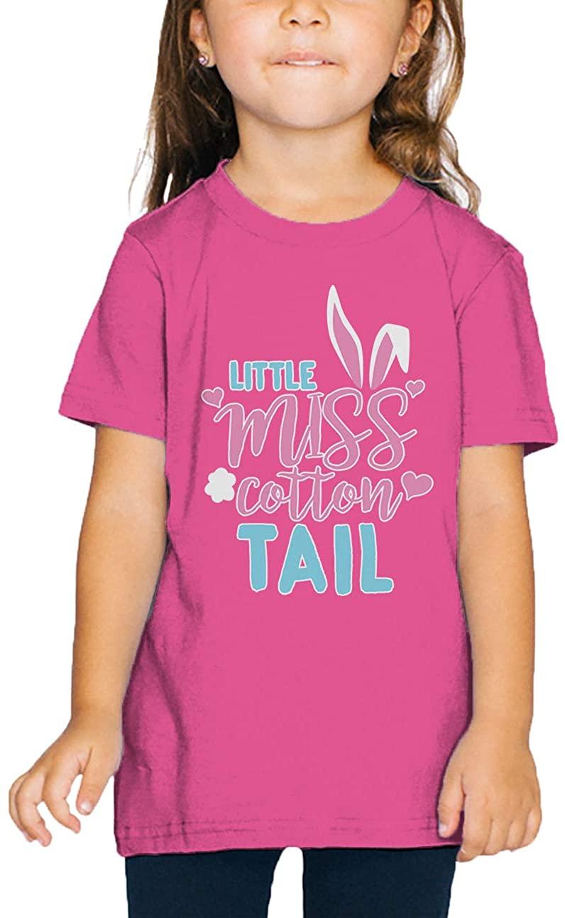 SpiritForged Apparel Little Miss Cotton Tail Toddler T-Shirt