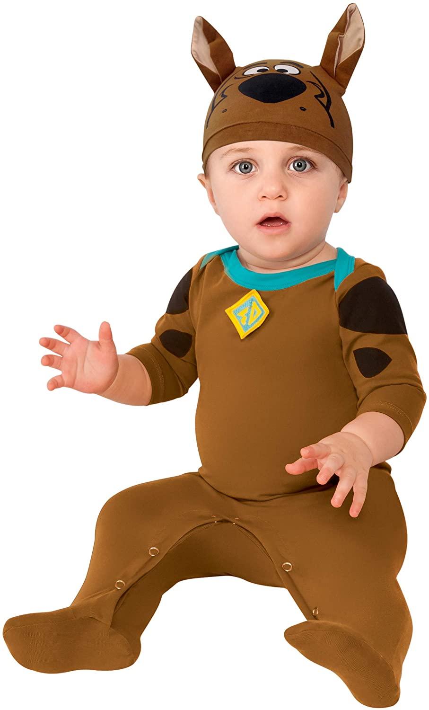 Rubie's Costume Co 887675-6-12 Scooby Doo Onesie Costume, 6-12 Months
