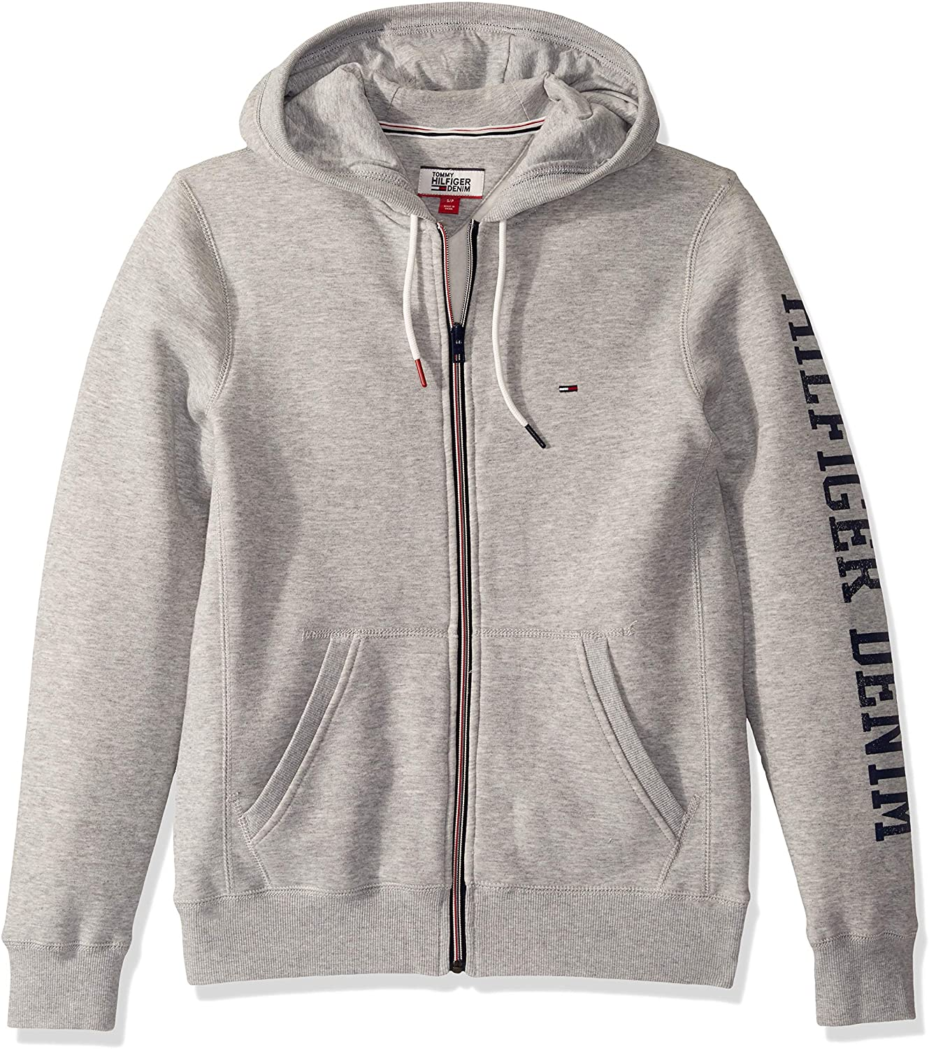 Tommy Hilfiger Men's Thd Full Zip Hoodie Sweatshirt