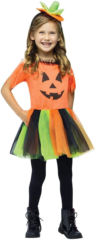 Pretty Pumpkin Toddler Costume (Large-3/4)