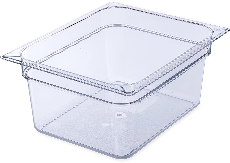 Carlisle 10222B07 StorPlus Half Size Food Pan, Polycarbonate, 6
