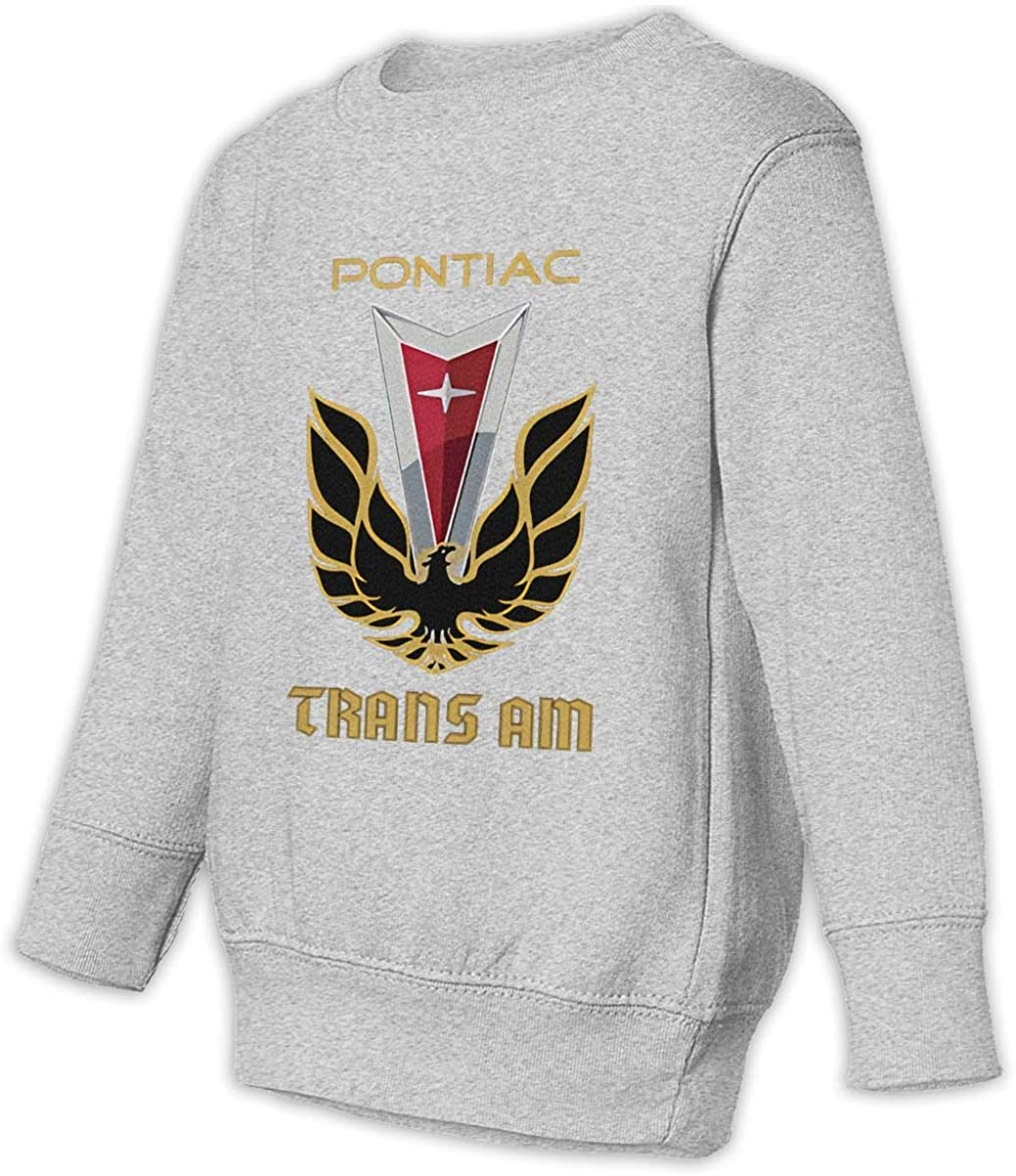 1836 Pontiac Trans Am Unisex Sweatshirt Youth Boy and Girls Pullover Sweatshirt 3t Gray
