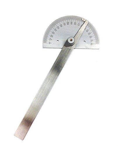 HHIP 4901-0005 Round Head Shape Steel Protractor