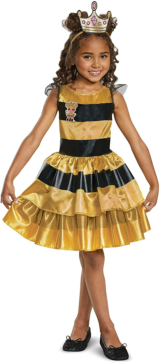 L.O.L. Dolls Classic Queen Bee Costume for Toddlers