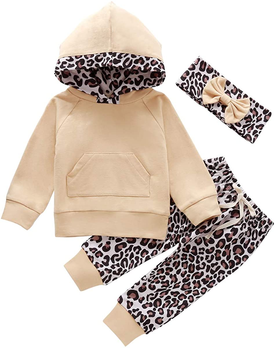 Baby Boys Girls Family Clothes Long Sleeve Camouflage Romper Outfit Pants Set +Headband (Apricot, 12-18 Months)