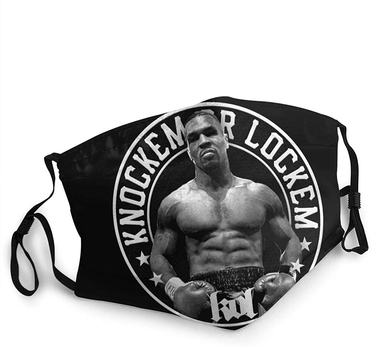 Mike Tyson Washable Reusable Unisex Breathable Adult Dust Face Mouth Cloth Balaclava (Multiple Outfits)