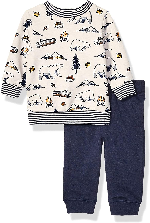 Little Me Baby Boys Sweatshirt Sets Sweater