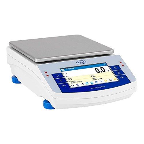 Radwag WLC 1/10.X2 Precision Balance, 10,000 Gram Capacity x 0.1 Gram and 1000 Gram x 0.01 Gram Readability